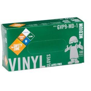 Powder Free Clear Vinyl Gloves - Medium